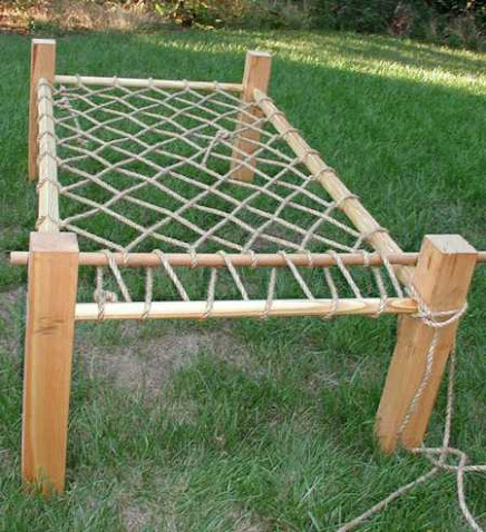 Rope bed frame instructions
