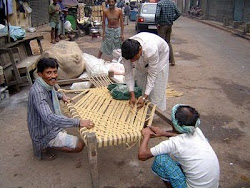Weaving a Charpoy
