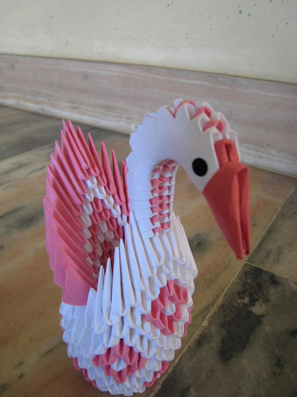 Art 3d Origami Swan