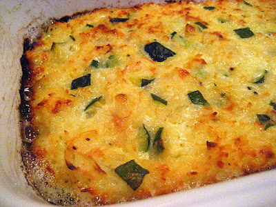 Meat Eater Cooking Vegetarian: Zucchini Gratin