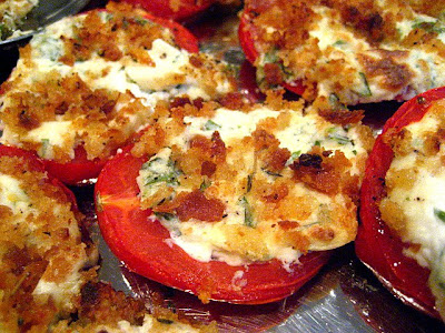 Stacey Snacks: Stuffed Tomatoes