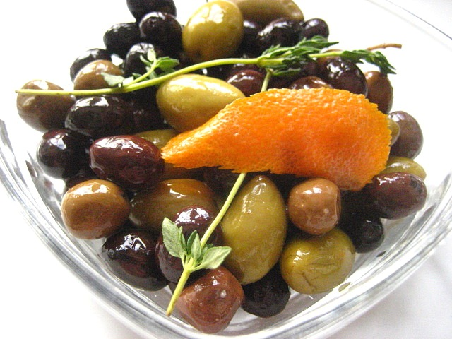 Stacey Snacks: Citrus Marinated Olives