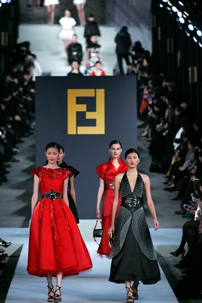 Moda en la gran Muralla China