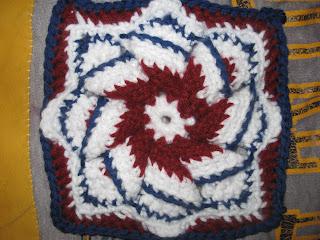 Vintage Crochet Pinwheel Star Doily Motif Pattern