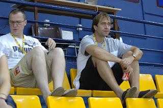 José Javier Jiménez y Ferrán López, del Fuenlabrada - Foto de Antonio Martel