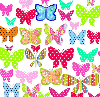 janes portfolioButterfly Wrapping Paper