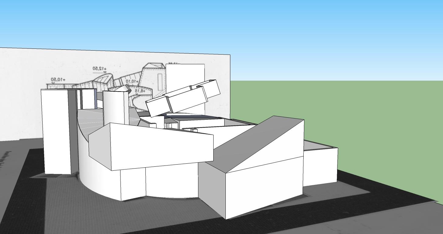 trent howell arch 1390 vitra design museum model progress. Black Bedroom Furniture Sets. Home Design Ideas