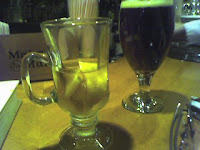 Hot toddy and cold beer