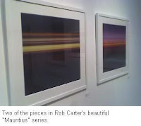 Two of the pieces in Rob Carter's beautiful Mauritius series.
