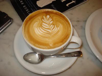 murky coffee's classic cappuccino