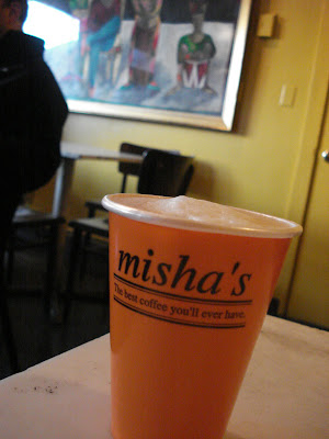 Misha's coffee - the best coffee you'll ever have