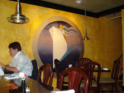 Art deco at Flying Fish