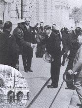 Il Duce con Hitler a Venezia