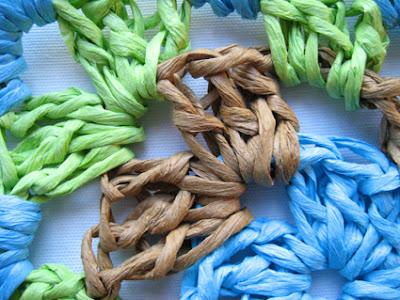 Bright-Colored Shell Stitch