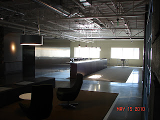 McKinstry Innovation Center kitchen and dining area