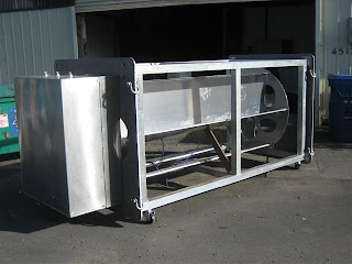 Hydrovolts Flipwing Turbine demonstration unit under construction