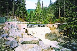 Furry Creek, BC small hydro project