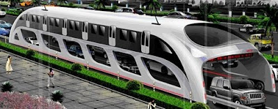 Straddle train concept