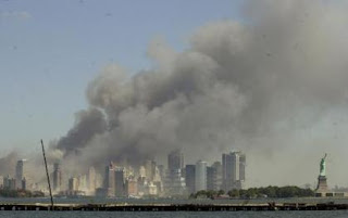 New York City on 9/11/01