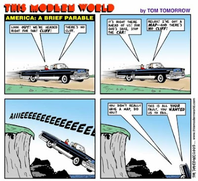 Tom Tomorrow: A Peak Oil Parable