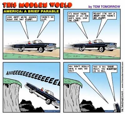 Tom Tomorrow: A Peak Oil Parable