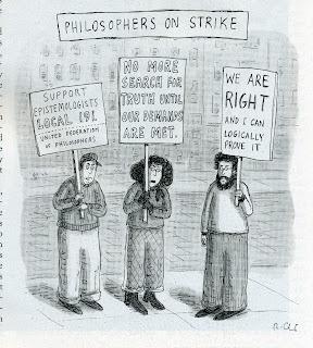 Philosophers on Strike cartoon