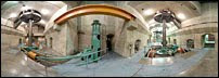 Hoover Dam 360-degree view of generators