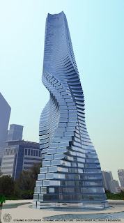 Proposed rotating tower in Dubai