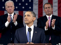 State of the Union Address 2011: President Obama, Vice-President Biden and Speaker Boehner