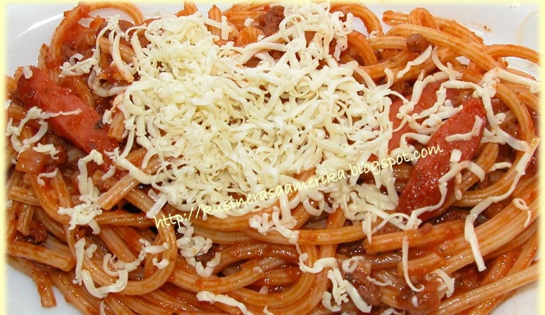 how to make filipino spaghetti with condensed milk