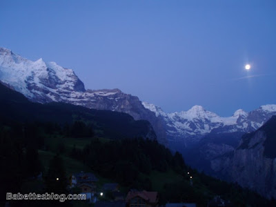 Wengen Night Sky