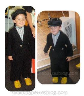Volendam - Dutch boy costume