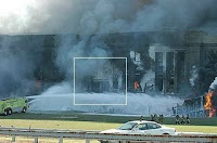why were 'first responders' de-contaminated at the pentagon?