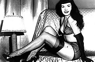 bondage babe bettie page dies at 85