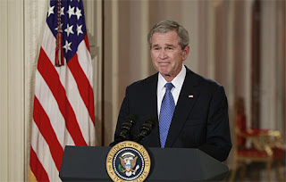 bush bids america farewell in final televised speech as president