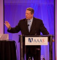 gore pulls 'inconvenient' slide of disaster trends