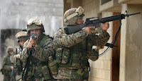 urban warfare drills linked to coming economic rage