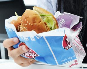 chemicals in fast food wrappers end up in human blood