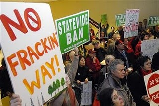 pennsylvania allows gas fracking waste to be dumped in local waterways