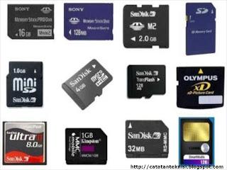 jenis-jenis memory card