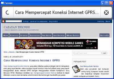 Firefox Mobile Emulator