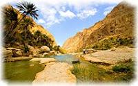 Оман, гора, река
