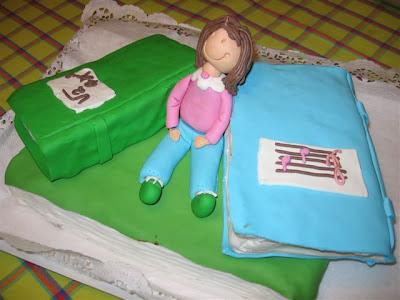 o bolo da Mariana