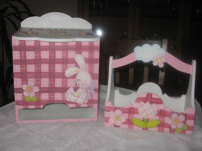 cesto e fraldário para bébé