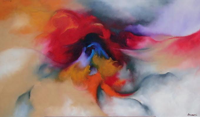 """Serie: """"Mapas del alma"""" .Obra Nº 38"""