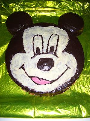 Tarta de Mickey