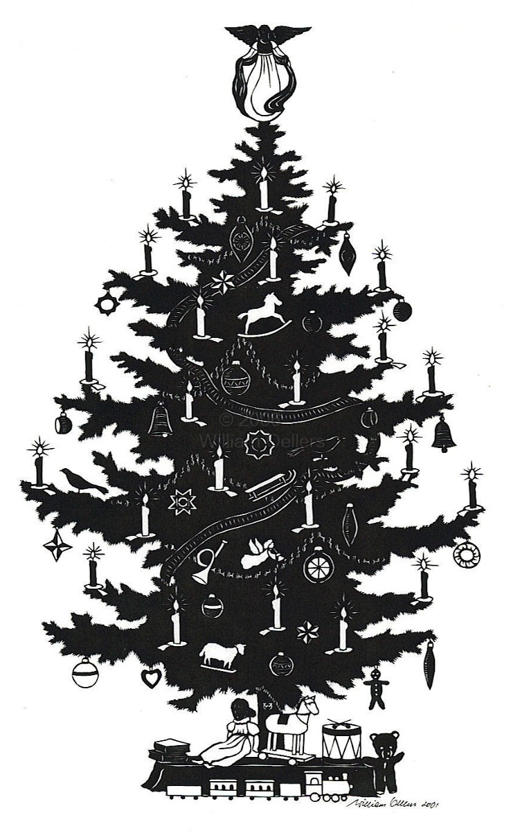 My Ancestor's Name: Christmas Countdown: Our Christmas Tree