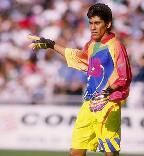 Goalkeeper of Mexico, Jorge Campos