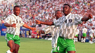 Nigeria shirt at world cup 1994