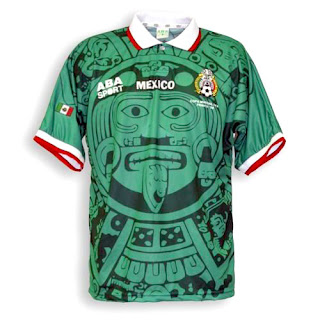 Mexico Jersey, 1998 World Cup